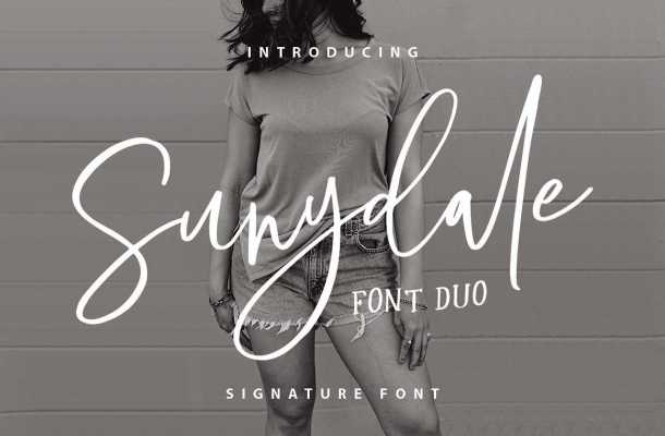 Sunydale Font Family Free Download