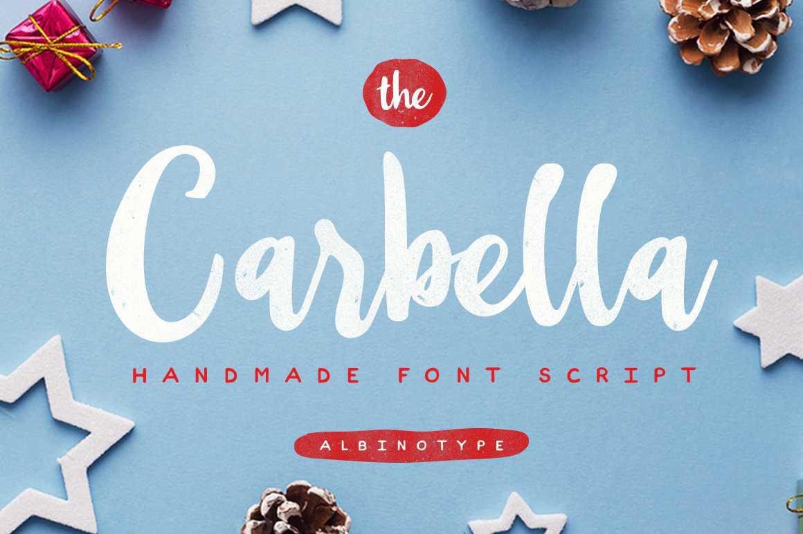 the-carbella-script-font