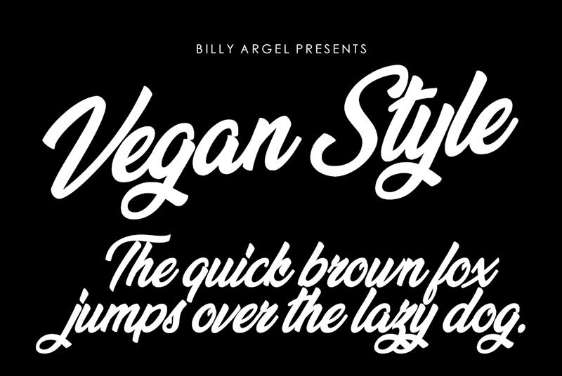 Vegan Style Font Free Download - Dafont Free