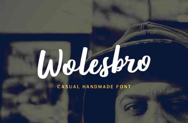 Wolesbro Brush Font Free Download