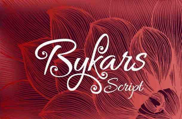 Bykars Font Free Download