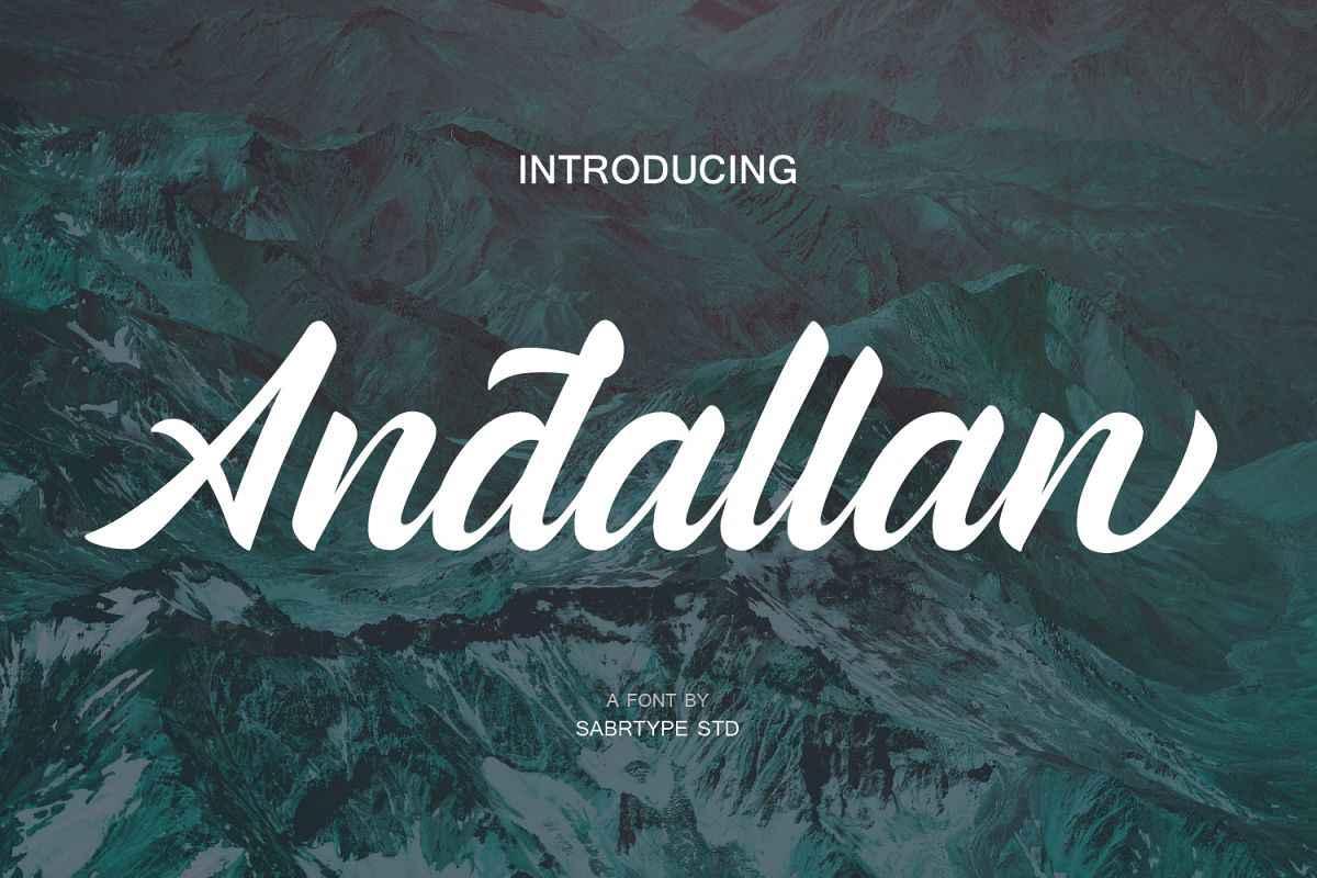 andallan-script-font