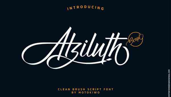 Atziluth Script Font Free Download