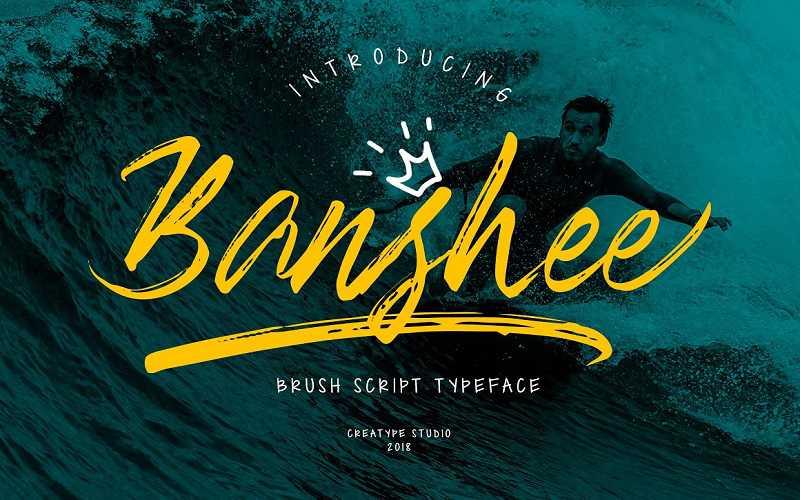 banshee-brush-font1