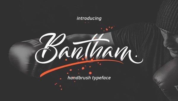 Bantham Handbrush Font Free Download