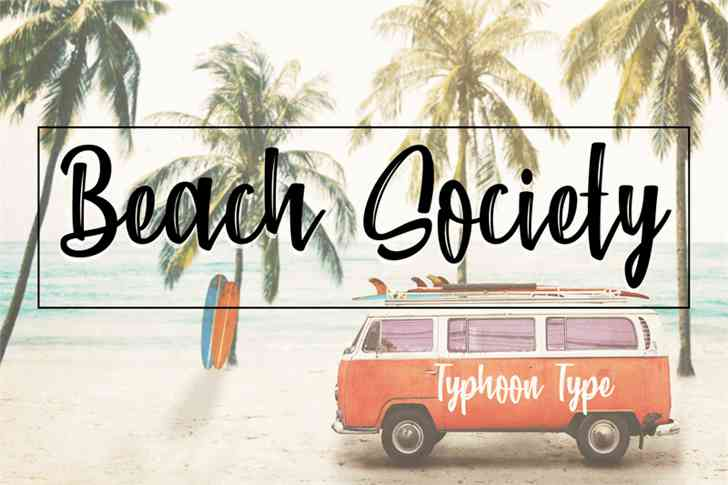 beach-society-brush-font