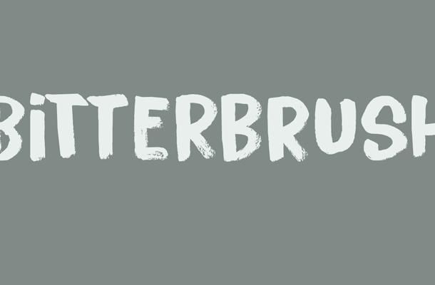Bitterbrush Font Free Download
