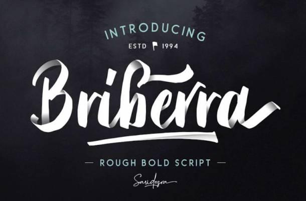 Briberra Script Font Free Download