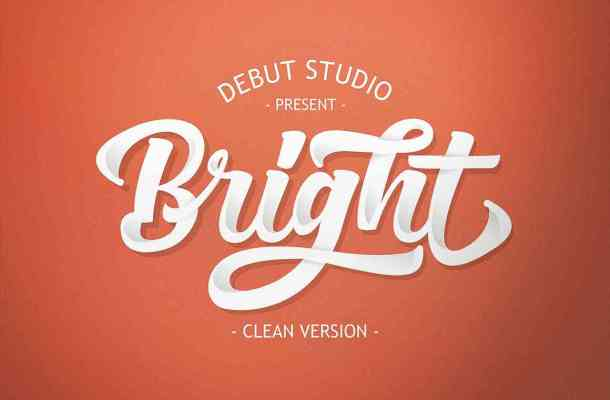 Bright Script Font Free Download