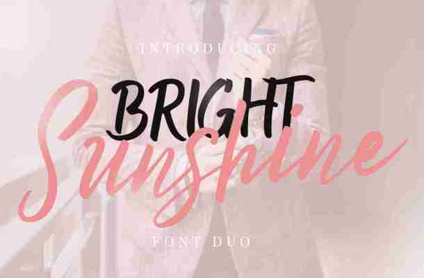 Bright Sunshine Script Font Free Download
