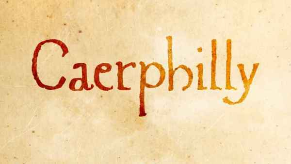 Caerphilly Font Free Download