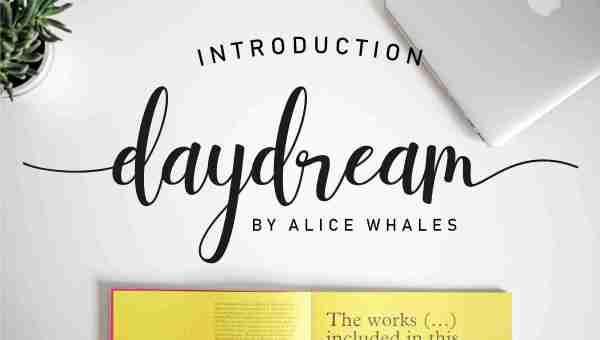 Daydream Script Font Free Download