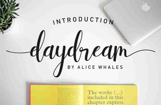 Daydream Script Font Free Download