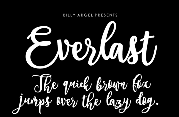 Everlast Font Free Download