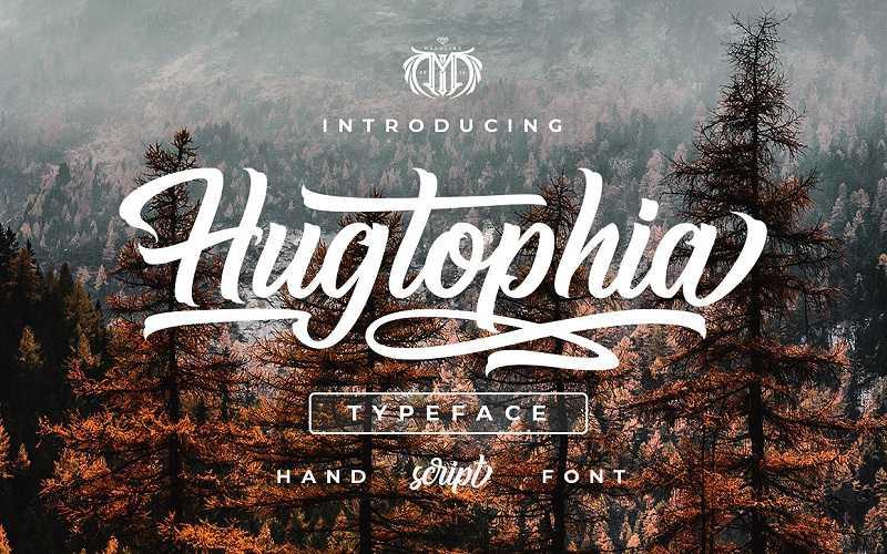 hugtophia-script-font1