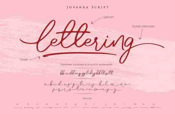 Jovanka Script Font Free Download