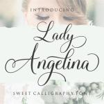 Lady Angelina Script Font Free Download