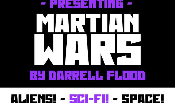 Martian Wars Font Free Download