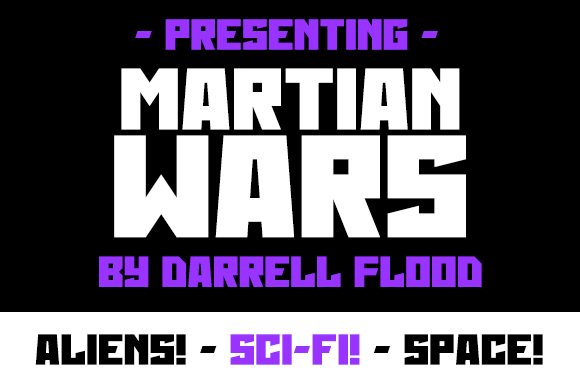 Martian Wars Font Free Download