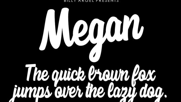 Megan Font Free Download
