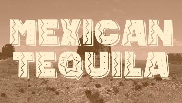 Mexican Tequila Font Free Download