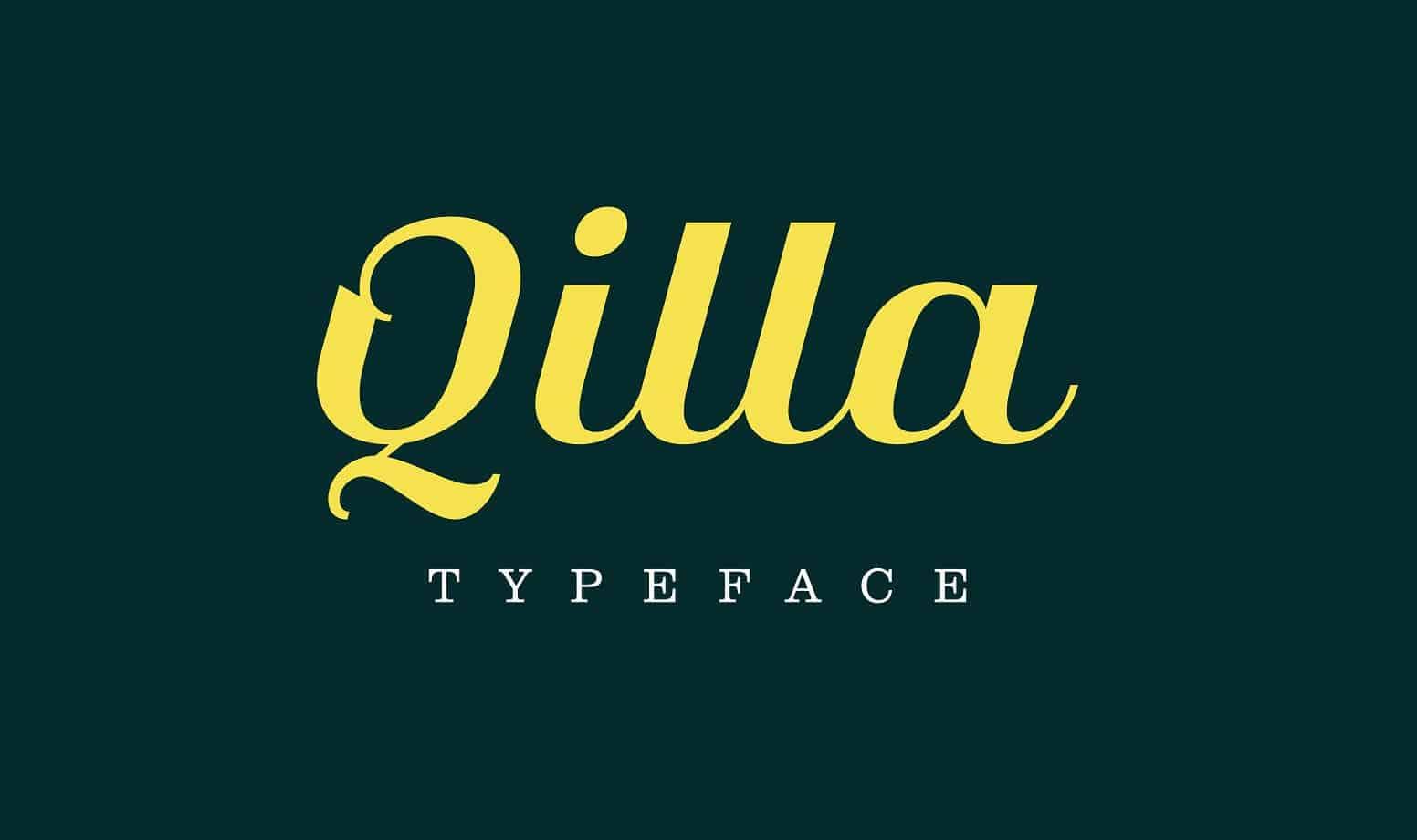 qilla-typeface