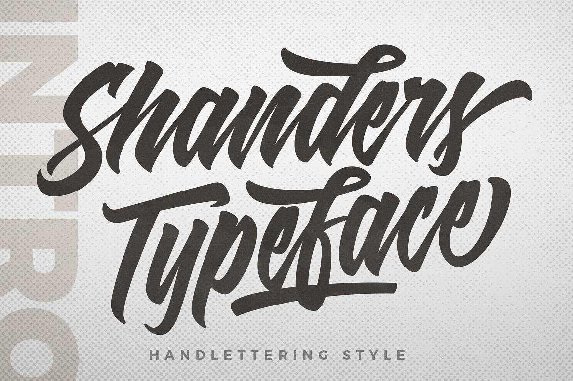 shanders-script-font