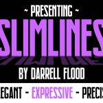 Slimlines Font Free Download