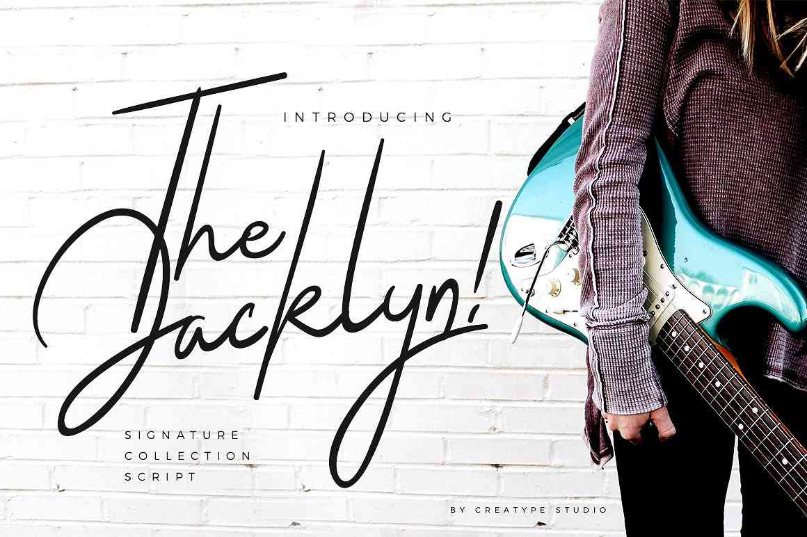 the-jacklyn-signature-font