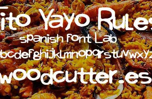 Tito Yayo Rules Font Free Download