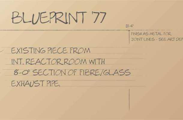 Blueprint77 font