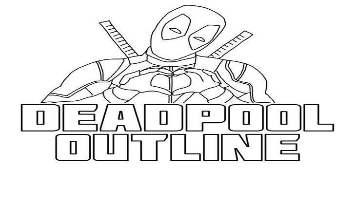 Deadpool-Outline