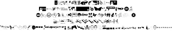 Freewave Remix font 2