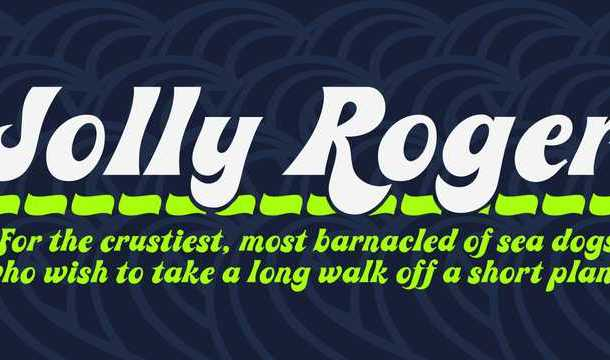 Jolly Roger font