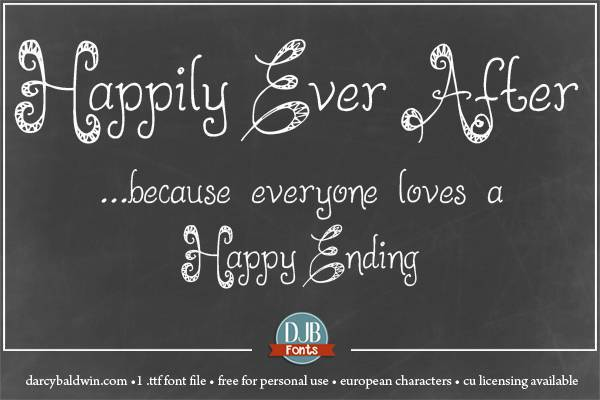 LMS Happily Ever After font