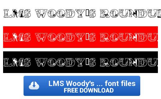 LMS-Woodys-Roundup-font