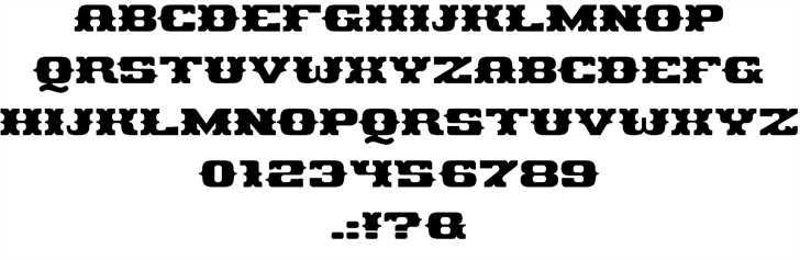 Pirates Gold font 2