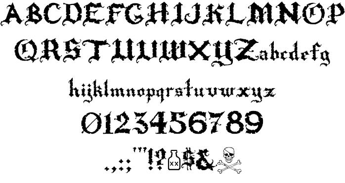 Rapscallion font 2
