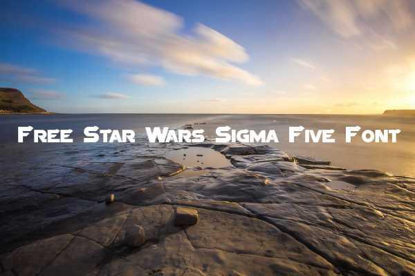 Sigma Five font