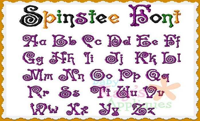 Spinstee font