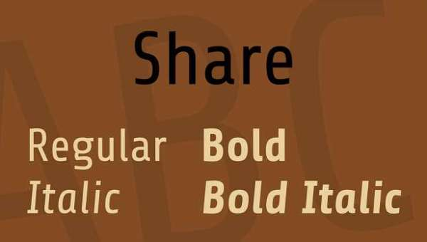 Share Font