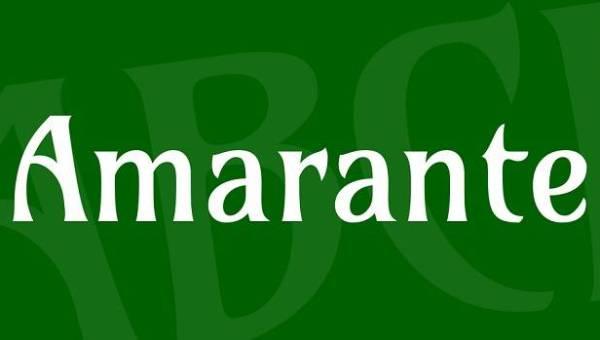 Amarante Font