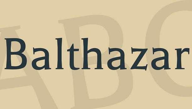 Balthazar Font