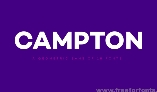 Campton Font