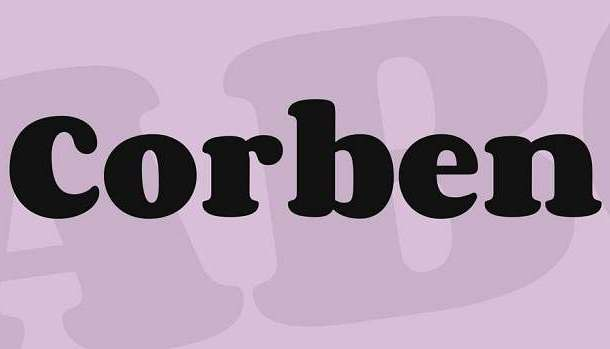 Corben Font Family