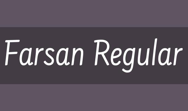 Farsan Font