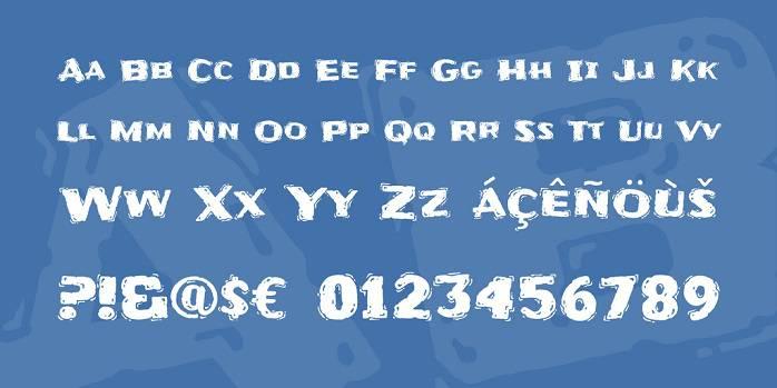 Frijole Font-1