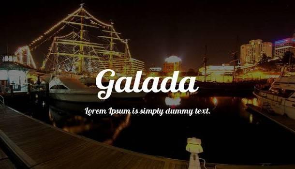 Galada Font