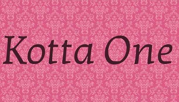 Kotta One Font