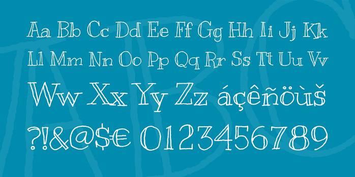 Kranky Font-1